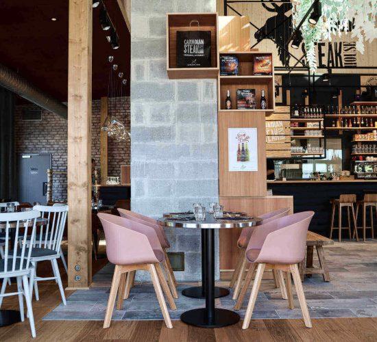 Slider nos restaurants - intérieur pacé